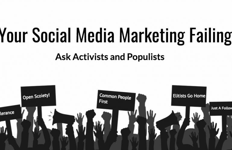 Is Your Social Media Marketing Failing?