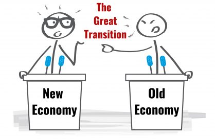 Business crisis within a health crisis The Great Transition from the old economy to old economy